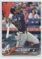 Late Rookie Variation - Ronald Acuna Jr.