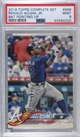 Factory Set Variation - Ronald Acuna (Bat Vertical) [PSA 9 MINT]