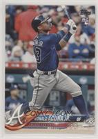 Factory Set Variation - Ronald Acuna (Bat Vertical) [EX to NM]