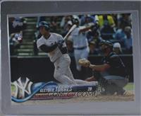 Late Rookie Variation - Gleyber Torres (Bat Visible) [MintorBetter]