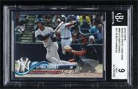 Late Rookie Variation - Gleyber Torres (Bat Visible) [BGS 9 MINT]
