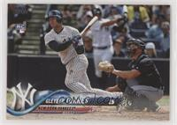 Late Rookie Variation - Gleyber Torres (Bat Visible)