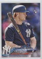 SP Variation - Clint Frazier (Blue Jersey) [EX to NM]