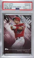 Mike Trout [PSA 10 GEM MT] #/58