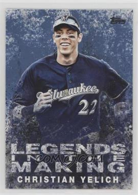 2018 Topps - Legends in the Making Series 2 - Blue #LITM-14 - Christian Yelich