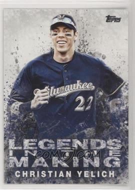2018 Topps - Legends in the Making Series 2 #LITM-14 - Christian Yelich