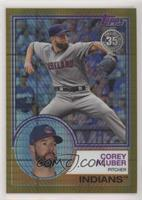 Update Series - Corey Kluber #/50