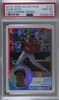 Update Series - Juan Soto [PSA 10 GEM MT]