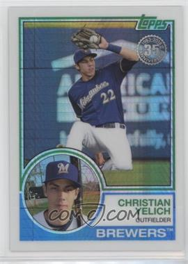 2018 Topps - Silver Pack 1983 Topps Design Chrome #139 - Update Series - Christian Yelich