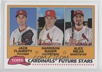 Jack Flaherty, Harrison Bader, Alex Mejia