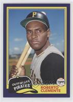 1981 Design - Roberto Clemente (Posed with Bats) #/175