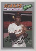 1977 Design - Willie McCovey #/99