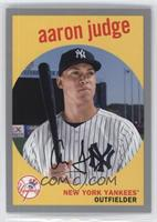 1959 Design - Aaron Judge (Bat on Shoulder) #/99