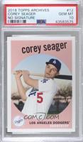 1959 Design No Signature - Corey Seager [PSA10GEMMT]