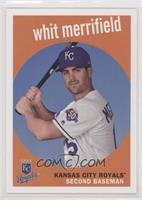1959 Design No Signature - Whit Merrifield