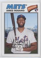 1977 Design - Amed Rosario (Posed with Bat)
