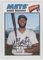 1977 Design - Amed Rosario (Posed with Bat)