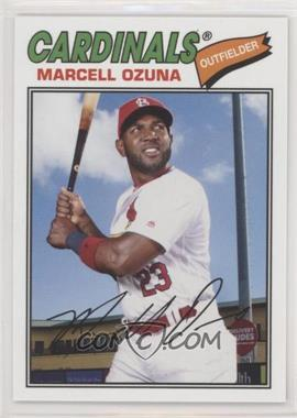 2018 Topps Archives - [Base] #136 - 1977 Design - Marcell Ozuna