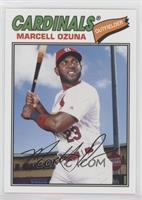 1977 Design - Marcell Ozuna