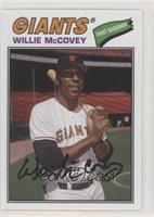 1977 Design - Willie McCovey