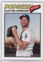 1977 Design - Clayton Kershaw (Pitching Pose)