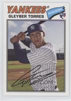 1977 Design - Gleyber Torres