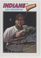 1977 Design - Lou Boudreau