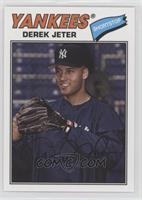 1977 Design - Derek Jeter (Posed with Glove)