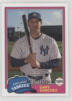 1981 Design - Gary Sanchez