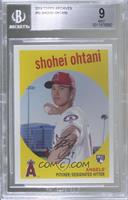 1959 Design - Shohei Ohtani (Pitching Pose) [BGS9MINT]