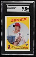 1959 Design - Shohei Ohtani (Pitching Pose) [SGC9.5Mint+]