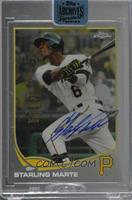 Starling Marte (2013 Topps Chrome) /25 [Buy Back]