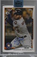 Marwin Gonzalez (2014 Topps Update) /40 [Buy Back]