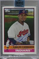 Carlos Carrasco (2015 Topps Archives) /34 [Buy Back]