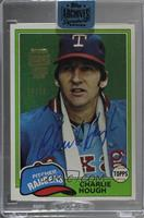 Charlie Hough (1981 Topps) /98 [BuyBack]