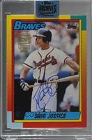 David Justice (1990 Topps Traded) /99 [BuyBack]