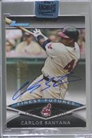 Carlos Santana (2011 Bowman Finest Futures) [Buy Back] #/1