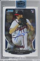Alex Wood (2013 Bowman Chrome) [Buy Back] #/21