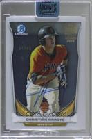 Christian Arroyo (2014 Bowman Chrome Top Prospects) [Buy Back] #/66