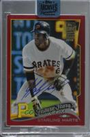 Starling Marte (2014 Topps Red) [BuyBack] #1/1