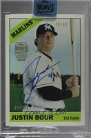 Justin Bour (2015 Topps Heritage High Number) /50 [BuyBack]