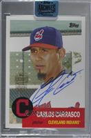 Carlos Carrasco (2016 Topps Archives) [BuyBack] #/17