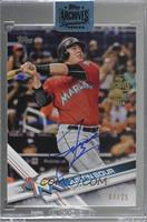 Justin Bour (2017 Topps) [BuyBack] #/25