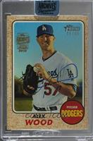 Alex Wood (2017 Topps Heritage High Number) /48 [BuyBack]