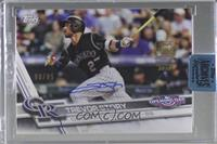 Trevor Story (2017 Topps Opening Day) [Buy Back] #/85