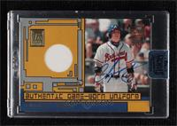 Chipper Jones (2001 Topps Reserve Game-Worn Uniform) [Buy Back] #/1