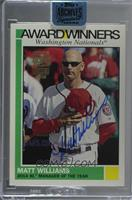Matt Williams (2015 Topps Heritage - Award Winners) /30 [Buy Back]
