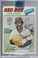 Luis Tiant (1977 Topps) /51 [Buy Back]