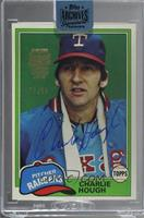 Charlie Hough (1981 Topps) [Uncirculated] #/98