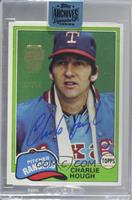 Charlie Hough (1981 Topps) /98 [Buy Back]